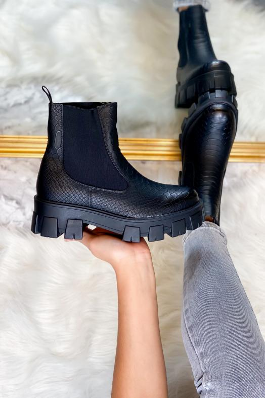 Woman Boots Black / Ref : 553-0