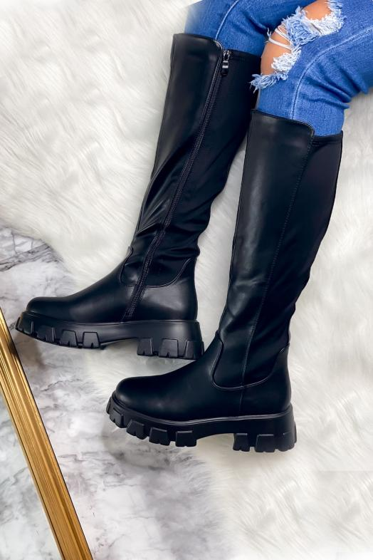 Woman Boots Black / Ref : 2021129A
