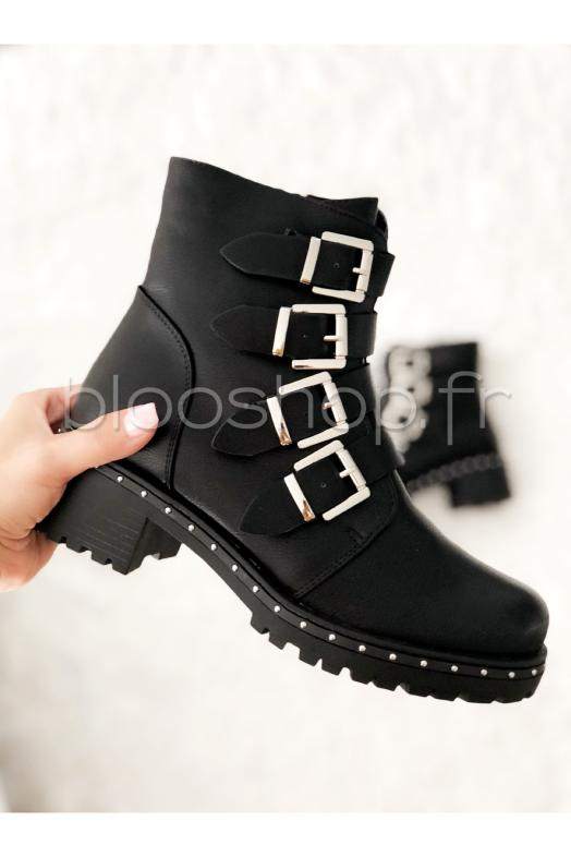 Bottines Boucles / Réf : E5112