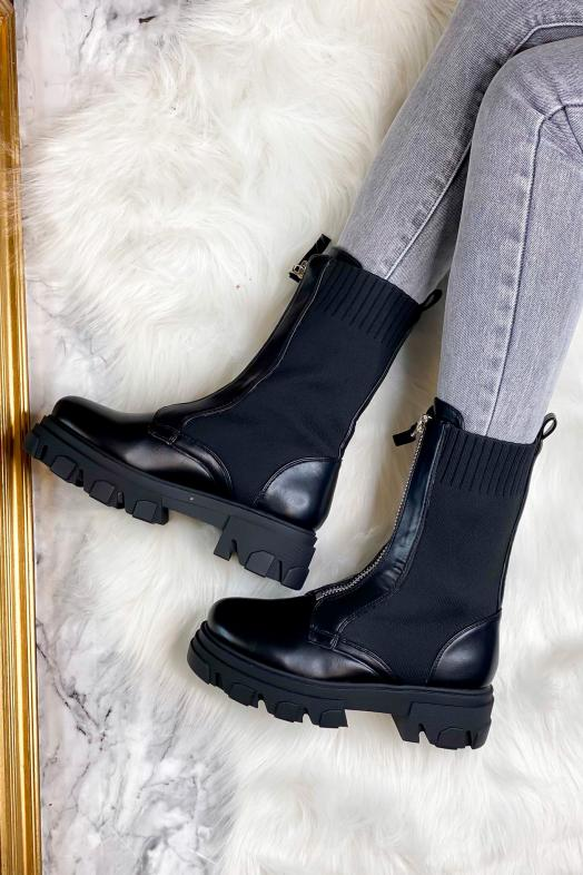 Woman Boots Black / Ref : 168297-0