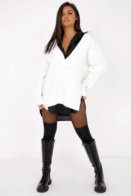 Woman Pullover White / Ref : 1198