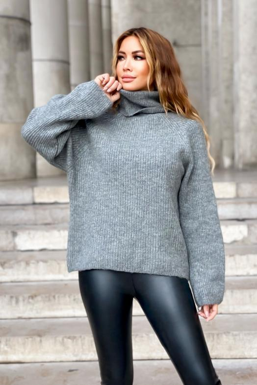Woman Pullover Grey / Ref : 1376
