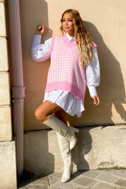 Woman Pullover Pink / Ref : 733