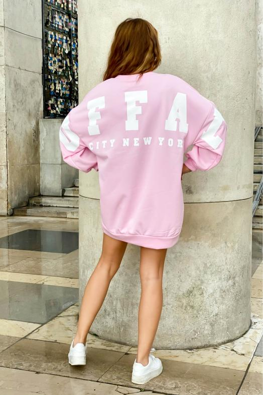 Sweat Robe Femme Buffalo Rose / Réf : 6811-9