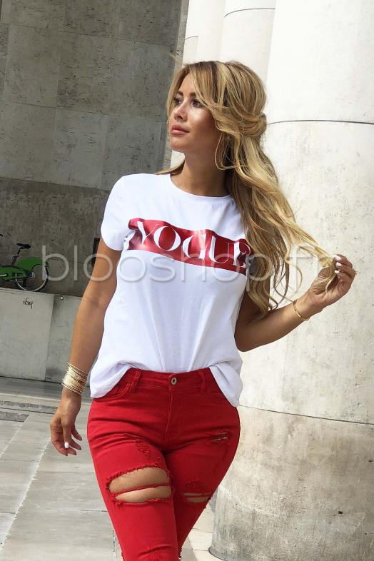 T-Shirt Vogue / Réf : 8376