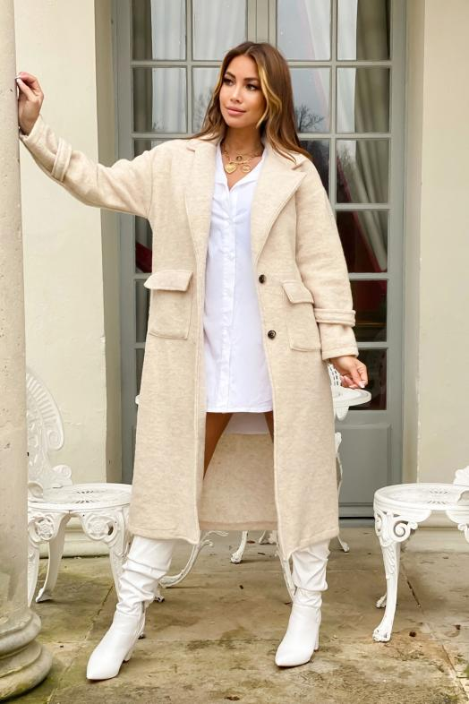 Woman Trench Beige / Ref : 8793