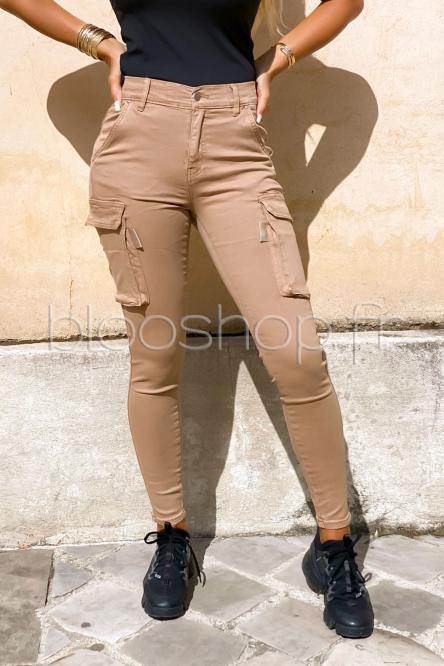 Baggy Femme Skinny Beige / Réf : 1512