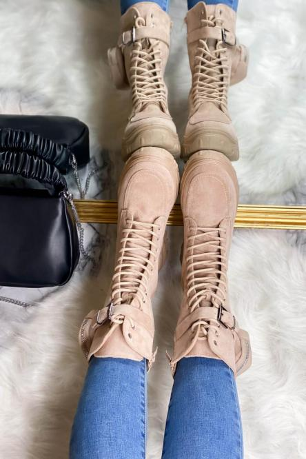 Woman Boot´s Beige