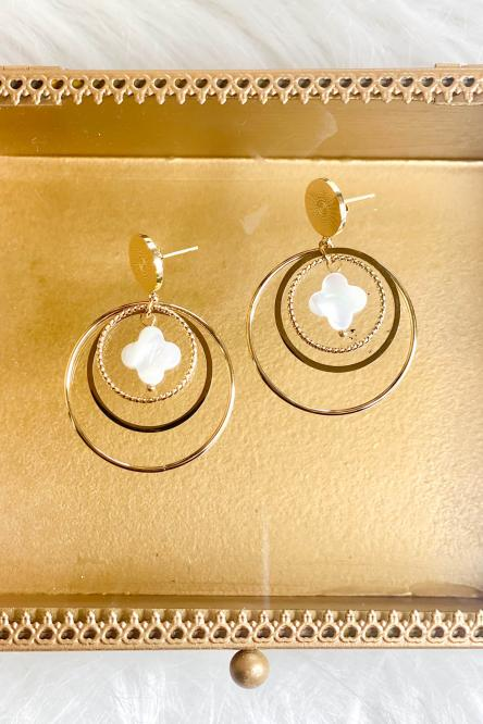 Woman Earring Golden