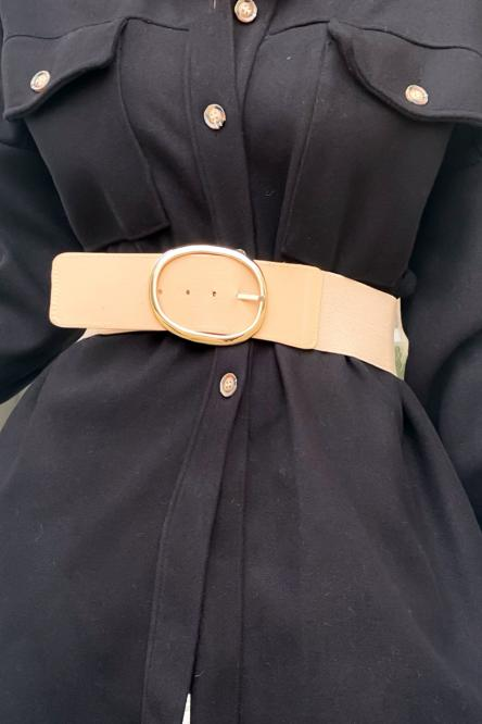 Woman Belt Beige