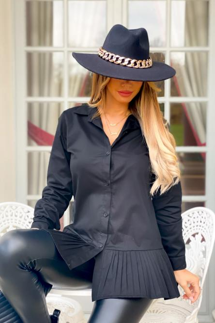 Woman Hat Black