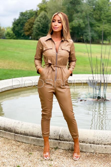 Woman Suit Brown
