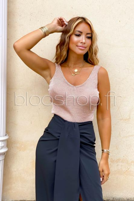 Woman Top Taupe