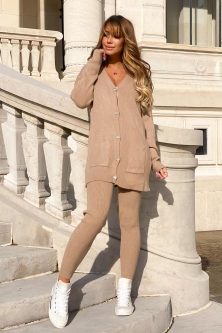 Woman Set Taupe