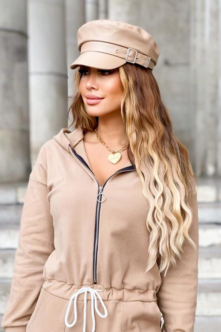 Woman Hat Beige