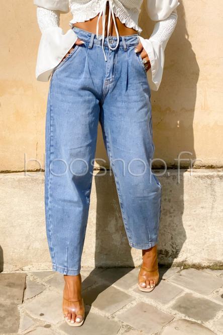 Jeans Femme Slouchy Bleu / Réf : 207
