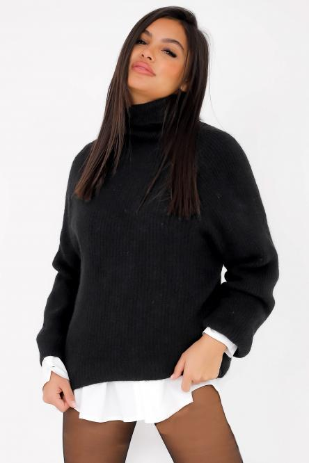 Woman Pullover Black