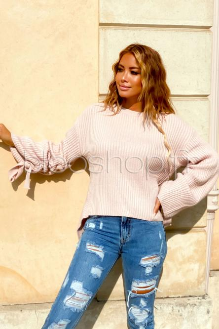 Woman Pullover Pink