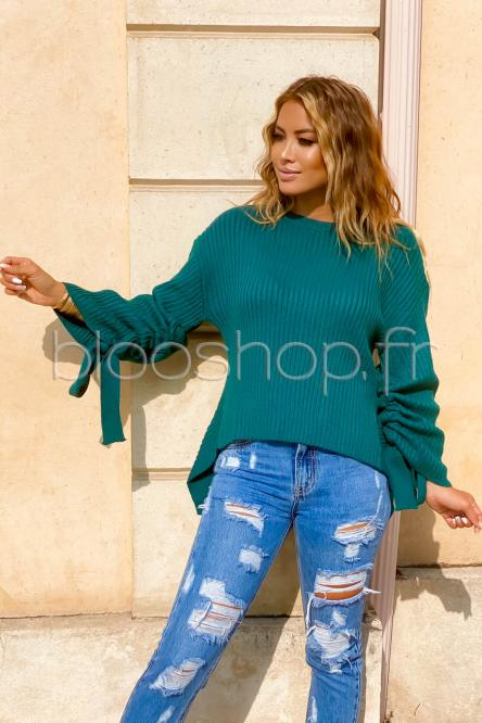 Woman Pullover Green