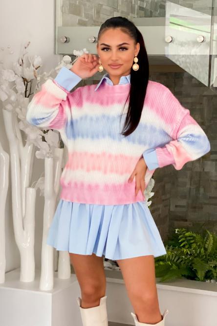Pull Femme Multicolore Multicolore / Réf : 1262-30