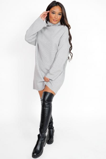 Robe Femme Ample Gris