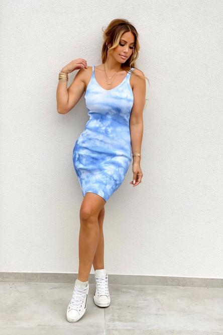 Robe Femme Tie & Die Bleu / Réf : 1124-6
