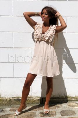 Robe Froufrou Femme Nude