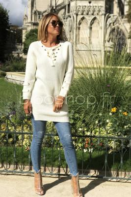 Robe Pull Croisillons / Réf : 8881