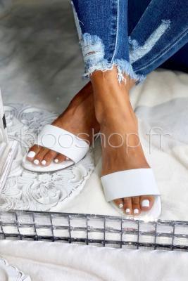 Sandales Femme Blanc / Réf : ST15