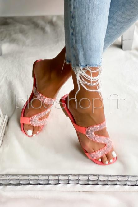 Sandales Femme Corail / Réf : VIVI025