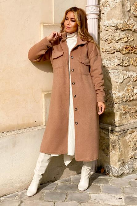 Woman Jacket Camel