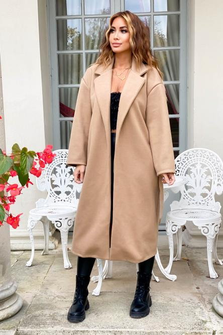 Trench Femme Oversize Beige