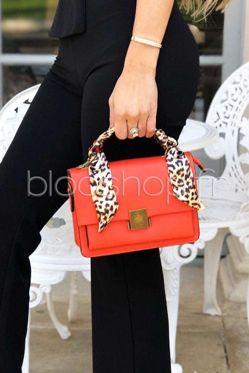 Pochette Cartable Femme Orange / Réf : PB10
